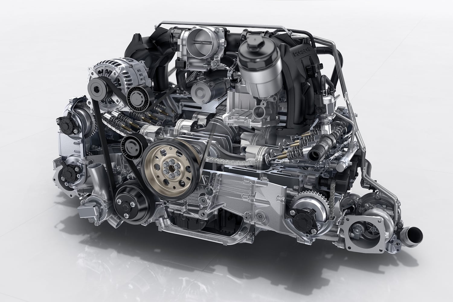 The new 9A2 engine for the new 991.2