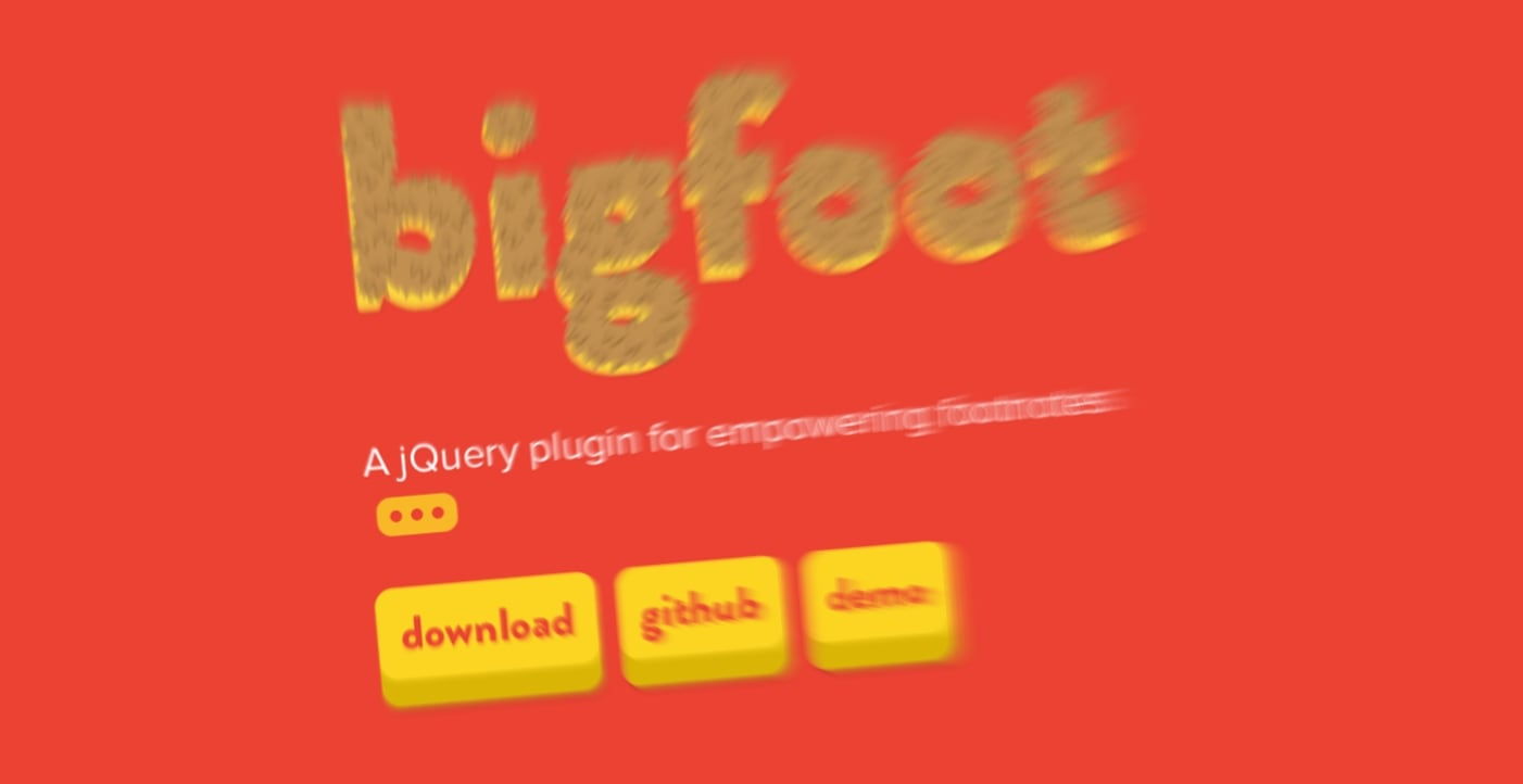Bigfoot Footnotes