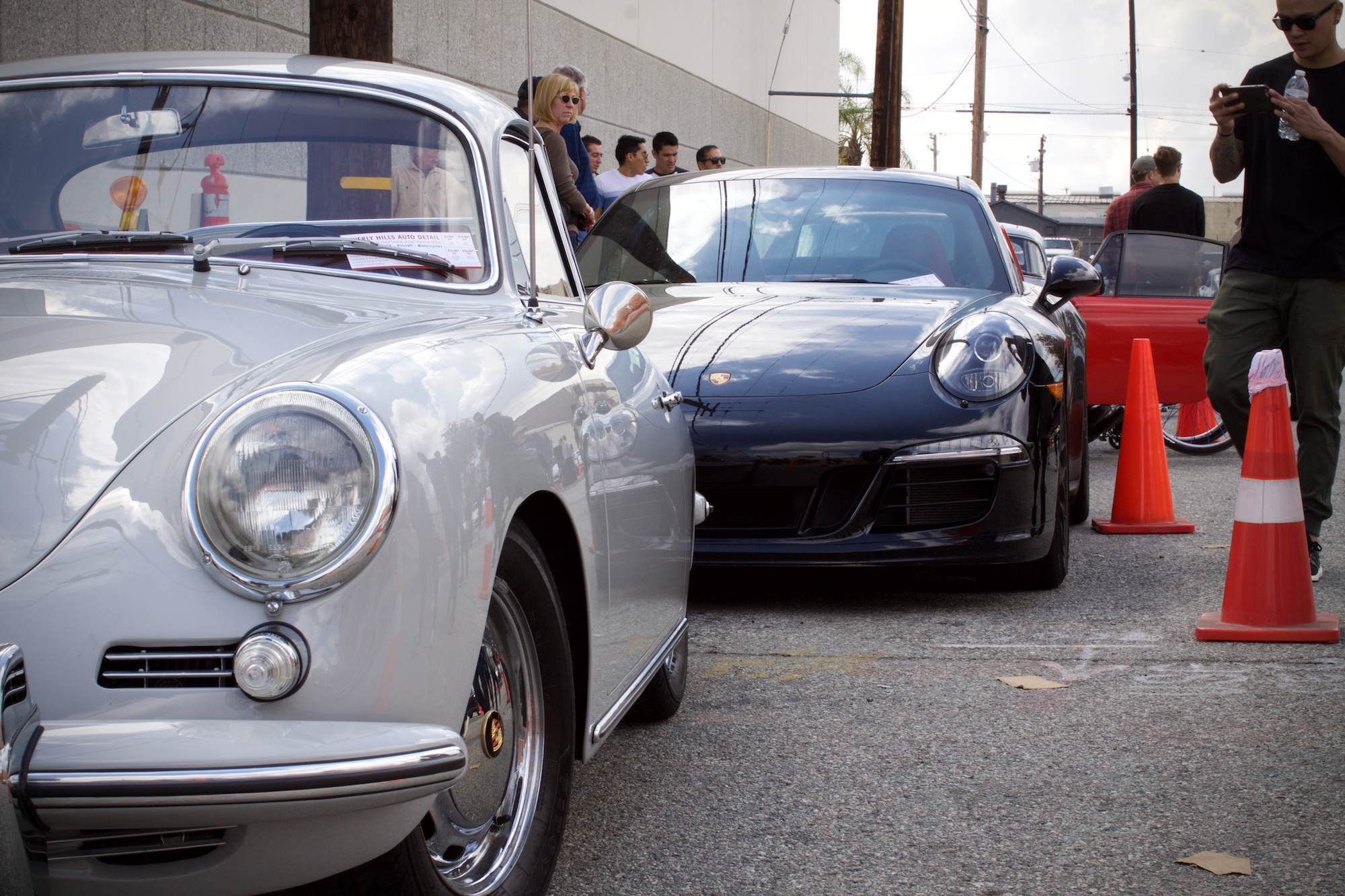 Old (356) meets new (991)