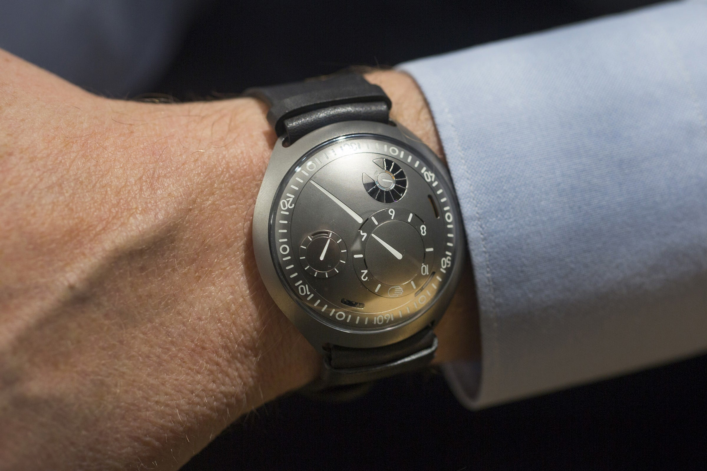 The Ressence Type 2 e-Crown Concept (From Hodinkee)