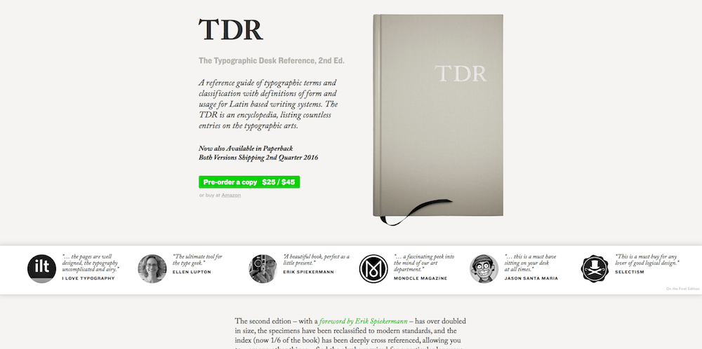 The Typographic Desk Reference, 2nd Ed.